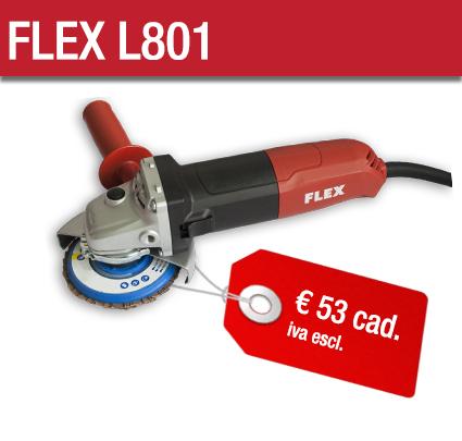Smerigliatrici Flex L801 - Cta Calflex