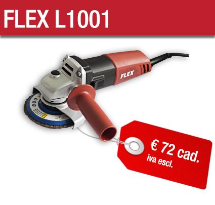 Smerigliatrici FLEX L1001 - Cta Calflex
