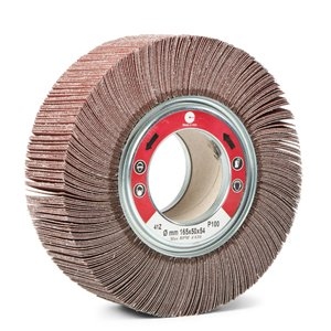 A/O ABRASIVE FLAP WHEELS WITH HOLE - CTA Calflex