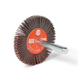 Ruota lamellare gambo Cta Calflex - Abrasivi Industriali professionali