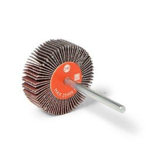 Ruota lamellare gambo lungoCta Calflex - Abrasivi Industriali professionali