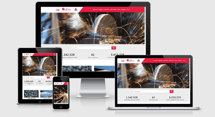 Cta Calflex nuovo sito web