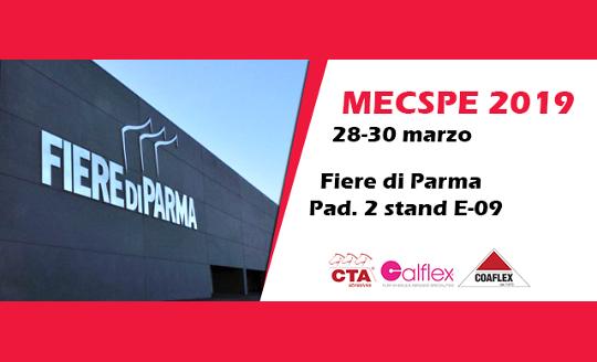 MECSPE 2019 Cta Calflex in Evidenza
