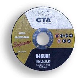 disco-taglio-supreme Cta Calflex - Abrasivi Industriali professionali