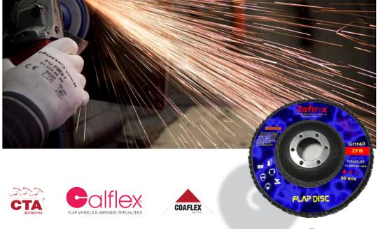 Dischi lamellari zafirox Cta Calflex - Abrasivi Industriali professionali