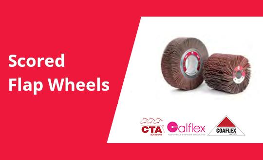 Scored Flap Wheels Cta Calflex - Abrasivi Industriali professionali