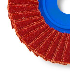 Ruote lamellari in tela ceramicata Cta Calflex - Abrasivi Industriali professionali