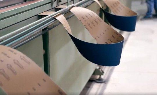 Produzione Nastri Abrasivi Cta Calflex - Abrasivi Industriali professionali
