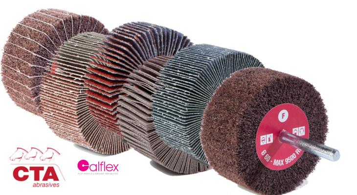 Ruote lamellari in diverse varietà di tela - Cta Calflex